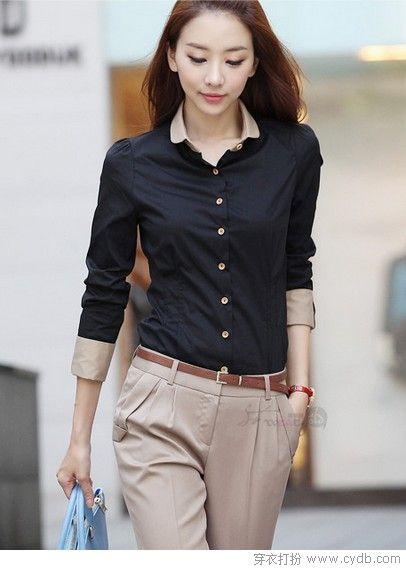 春色斑斓打底衬衫