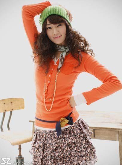 炫色针织衫